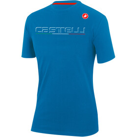 Castelli Classic T-Shirt Men drive blue
